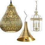 Gouden hanglampen