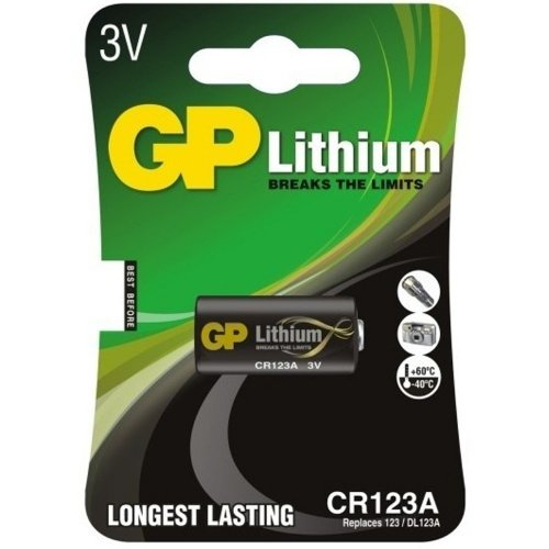 Battery - CR123A Size - Mag Tac - Pr. 3211953 - € 7.95
