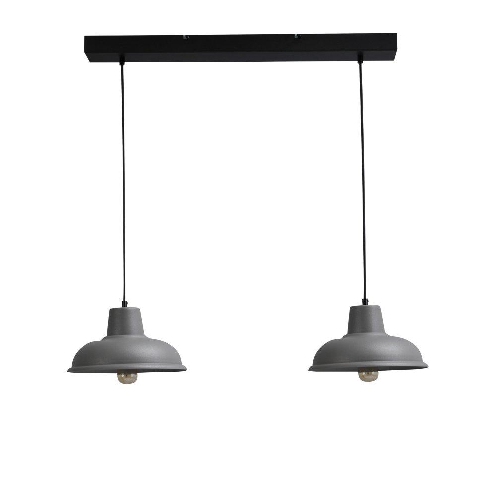 Masterlight Eetkamerlamp Di panna Industria 2x26 Retro 2045-00-70-2