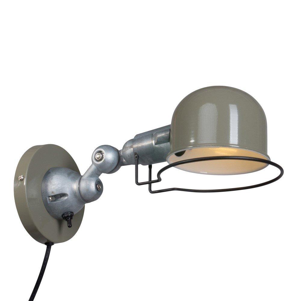 Steinhauer Retro leeslamp Davin 7657G